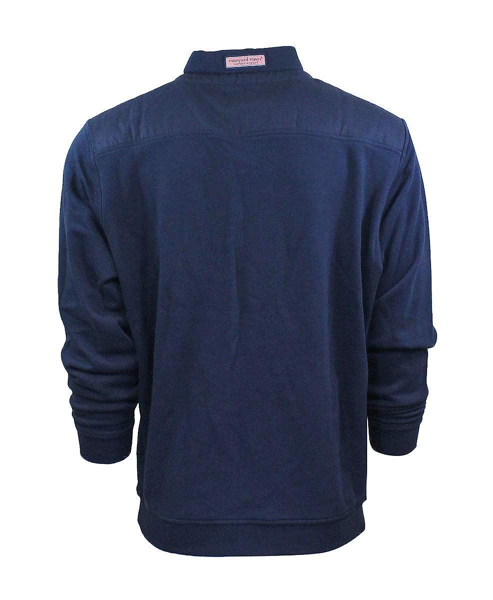 Vineyard Vines Mens Shep Shirt Pullover 1//4 Zip Sweater