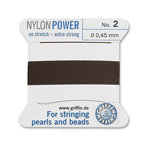 Griffin Bead Cord Nylon Brown #2
