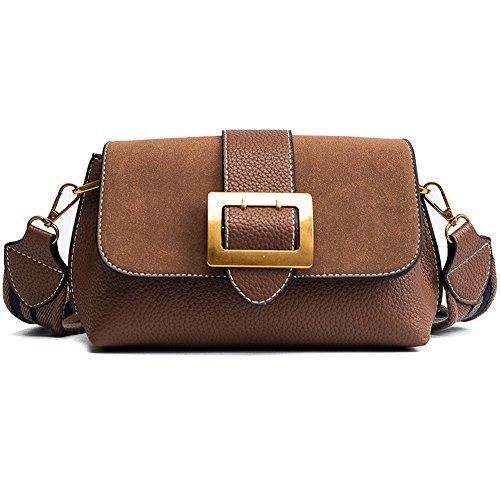 Meaeo Shoulder Bag New Shoulder Bag Woman, Black Brown
