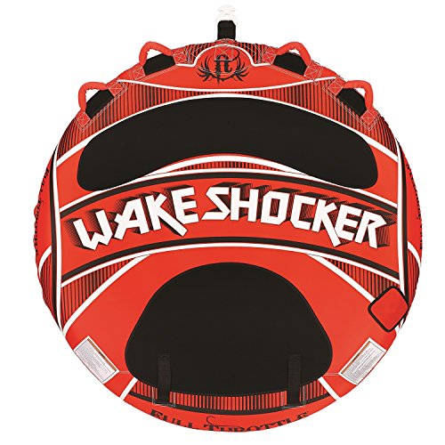 Full Throttle Wake Shocker, Two Person Tube ()