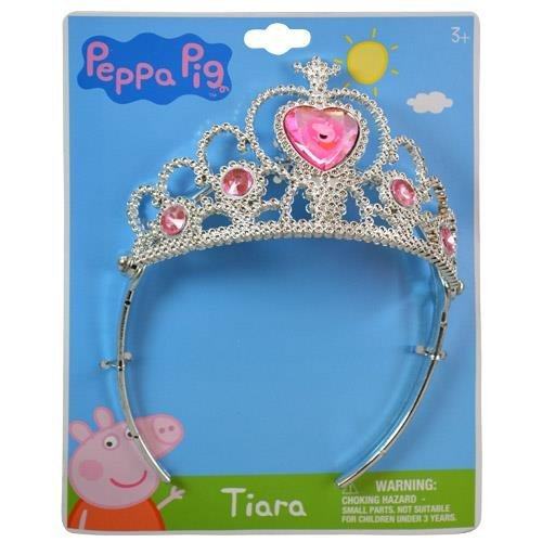 Peppa Pig Crown Tiara on Header Card by E-ONE