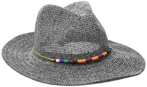 san-diego-hat-company-womens-knit-fedora-with-multi-color-beaded-band-black-one-size