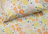 floral queen sheets - Where The Polka Dots Roam Light Floral Queen Sheet Set, Soft Sheets for Deep Matresses, 4 Piece Full Size Set, Pink, Yellow, Seafoam Teal and Coral Flowers