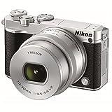 Nikon 1 J5 Mirrorless Digital Camera w/10-30mm PD-ZOOM Lens (Silver)
