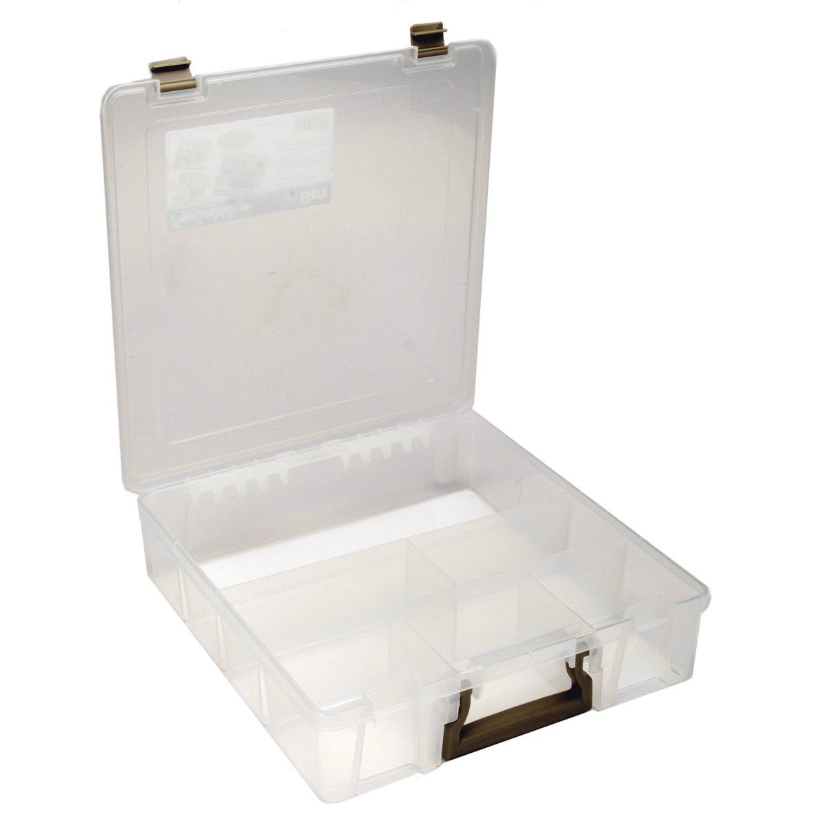 ArtBin Super Satchel-6 Fixed Divided Compartments-Translucent-9001AB ART BIN