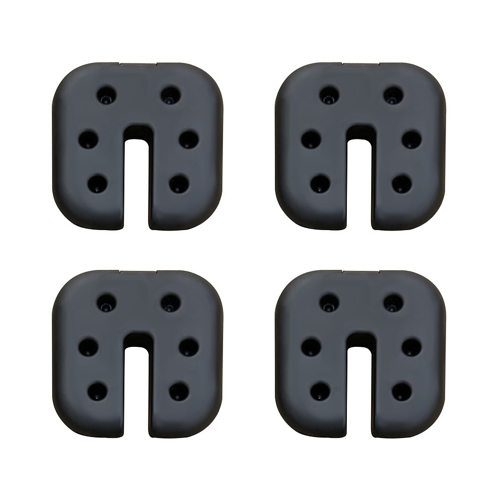 CROWN SHADES Canopy Weight Plates Set of 4-pc for Canopy One Touch Shade