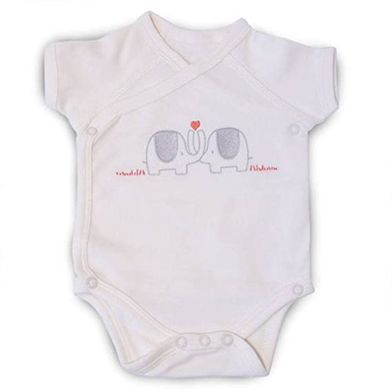 KATIES PLAYPEN BABY BEST BUYS Natures Purest My 1st Friend Organic Cotton Romper Suit 3-6 Months Cream