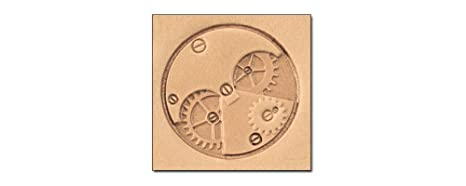 Time 3D Stamp 8649-00 by Tandy Leather