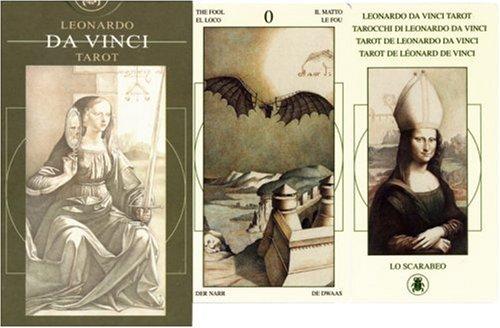 Leonardo da Vinci Tarot. 78 Karten: Mit deutschsprachigen Texten