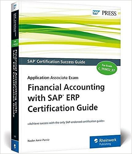 Amazon com: SAP FI (SAP Financial Accounting) Certification Guide