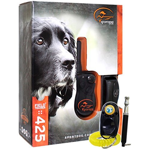 - SportDog - SD-425 - Field Trainer for Introductory and Advanced Training Dog Waterproof Shock Collar