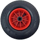 "12"" PNEUMATIC WHEEL 1/2"" (13MM) BORE 4.00 - 6, SACK TRUCK / TROLLY / WHEEL BARROW WHEEL / GARDEN"