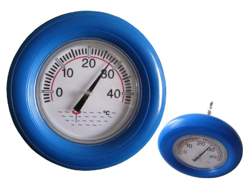 Dr. Richter Poolthermometer XXL - Schwimmbadthermometer - Wasserthermometer