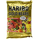 Haribo Original Gold-Bears Gummi Candy, 5-Pound Bag of Delicious Bears! Ships to You in Either Clear Packaging or the New Gold Updated Packaging. The Same Delicious Gummi Bears in Either Packaging.