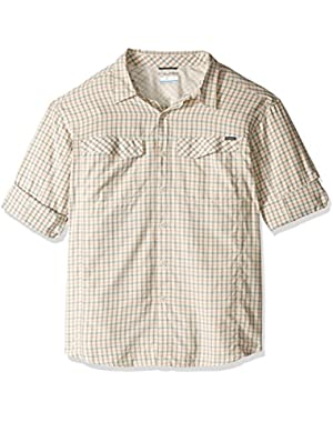 Men's Big-Tall Silver Ridge Plaid Long Sleeve Shirt, Valencia, 2X