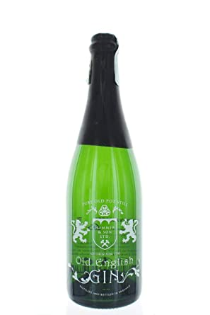 Old English London Dry Gin Ginebra, 44º - 700 ml: Amazon.es ...