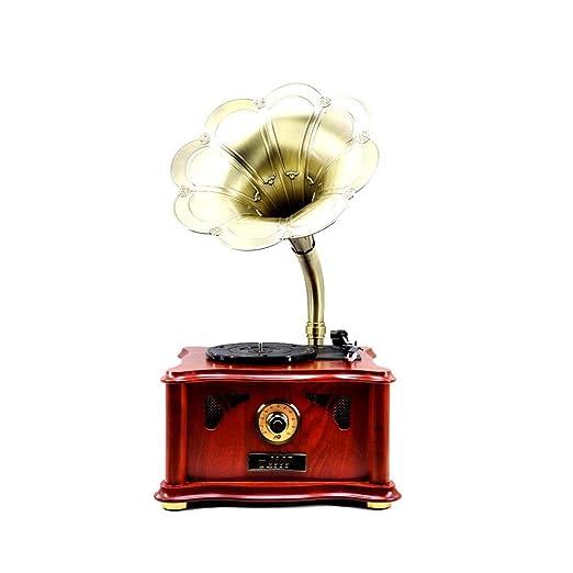 Daxiong Gramófono de Cuerno Grande del Jugador de Disco de Vinilo ...