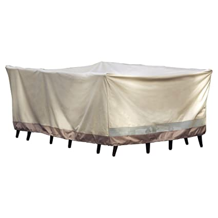 Patio Armor SF40280 Rectangle Table and Chair Set Cover