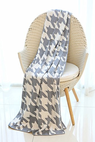 Mika Home Houndstooth Pattern Oversized