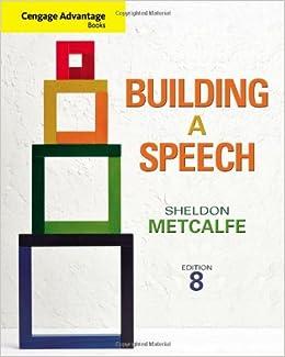 Building a speech