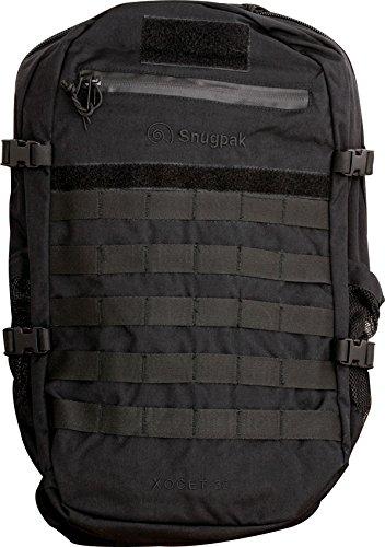 noir Taille unique SnugPak Xocet 35 sac à dos