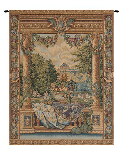 - Charlotte Home Furnishings Inc. Versailles Castle Italian Tapestry Wall Hanging