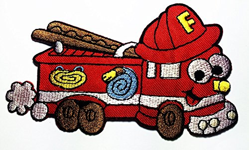 (MACK Super-Liner Superliner Truck carrying Lightning McQueen red race car in Cars Pixar Disney Movie logo patch Jacket T-shirt Sew Iron on Patch Badge Embroidery)