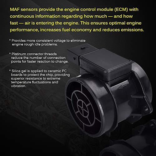 FAERSI Mass Air Flow Sensor Meter MAF 5WK96431 for Hyundai 03-10 Elantra &  06-08 Sonata & 03-08 Tiburon & 05-09 Tucson, KIA 07-09 Optima/Magentis &