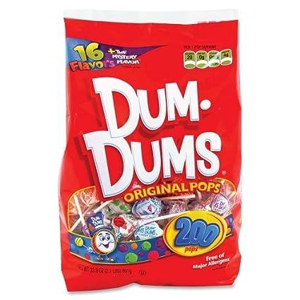 Al por mayor funda de 15 – marjack Dum dums Original Cop candy-dum Dum