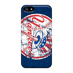 Iphone 5/5s YRy14336hrcT Customized HD New York Yankees Pictures Durable Hard Phone Cases -TimeaJoyce