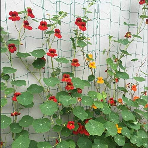 つると野菜のトレリスネット、厚みのある再利用可能な省スペースの耐久性のあるナイロン野菜は、トレリスネットを育てます(オプションで3サイズ)