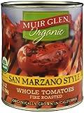 Muir Glen Organic Whole Tomatoes San Marzano Style Fire Roasted -- 28 oz - 2 pc