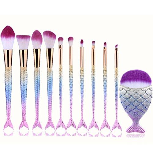Sixcup 7Pcs Professional Foundation Brush +BlushPowder Brush +Eyeshadow...