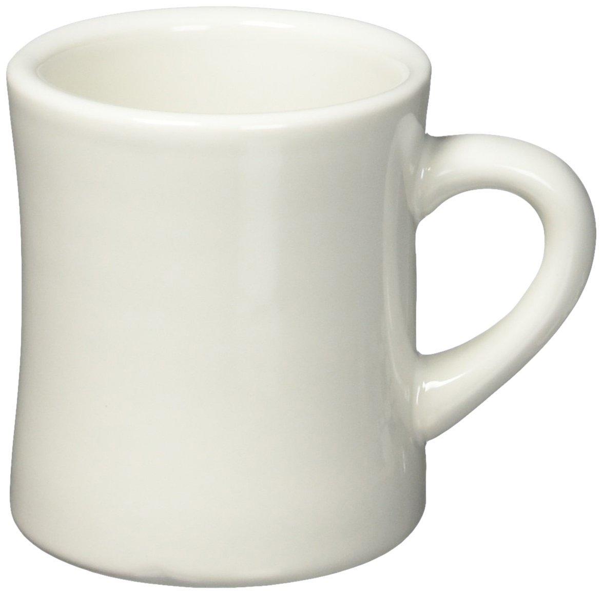 f9df000f7fe Amazon.com   Diner Coffee Mug: White Ceramic Mug: Coffee Cups & Mugs
