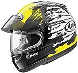 Arai Signet-Q Pro-Tour Splash Yellow Full Face Helmet - Large