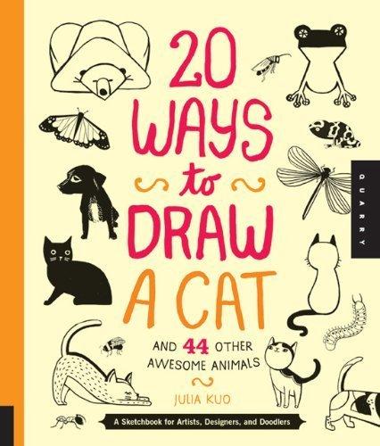 20 ways to draw a cat - 7