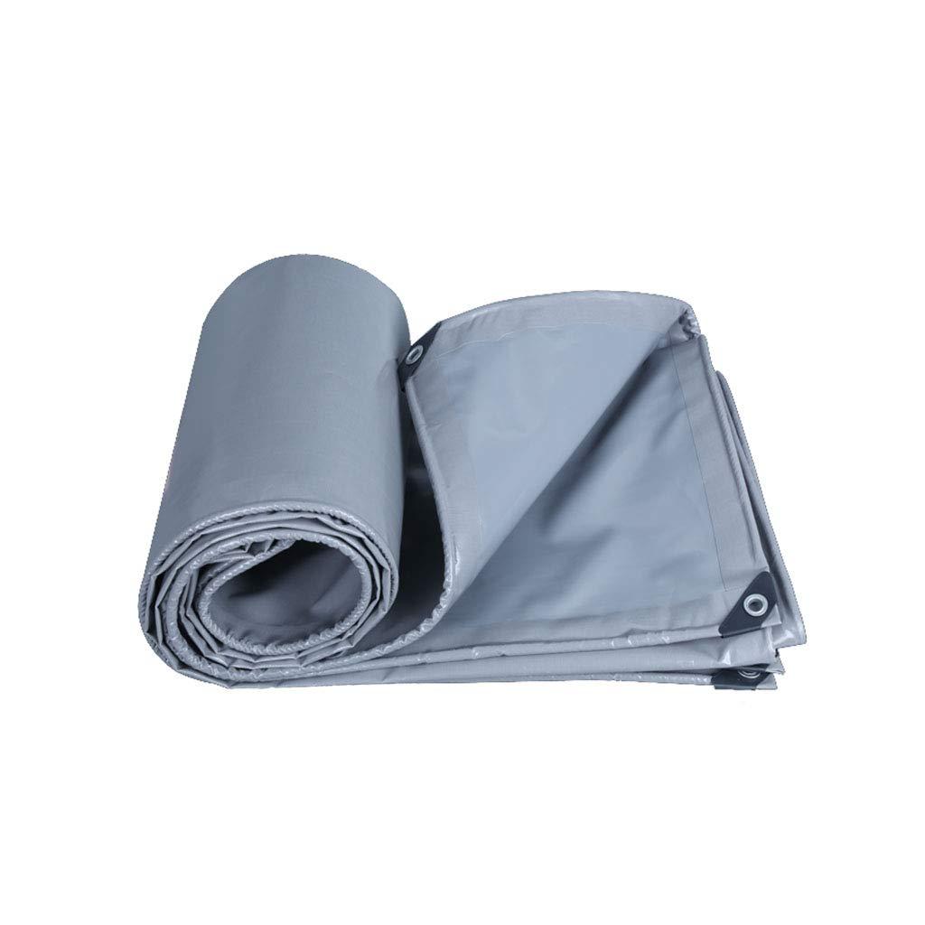 ターポリン肥厚オックスフォードレインプルーフターポリン日焼け止めバイザー断熱材3アンチ衣類プラスチッククロスシルバー1.5-6メートル (サイズ さいず : 4*4m) 4*4m  B07MKWSTSX