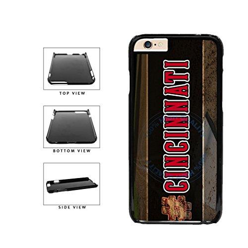 BleuReign(TM) Hashtag Cincinnati #Cincinnati Baseball Team Plastic Phone Case Back Cover For Apple iPhone 6 6s (4.7 Inches Screen)