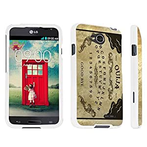 DuroCase ? LG Optimus L70 / LG Optimus Exceed 2 Hard Case White - (Ouija Board) by lolosakes