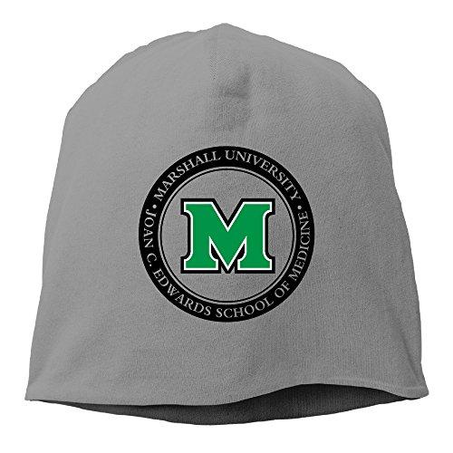 Caryonom Adult Marshall University Sign Beanies Skull Ski Cap Hat DeepHeather (Skully And Green Demon)