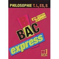 Philosophie Tle L, ES, S : 41 fiches de révision
