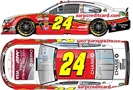 Nascar Jeff Gordon 24 Aarp Chase Credit Card 1 64 Kids Hardtop Car 2013