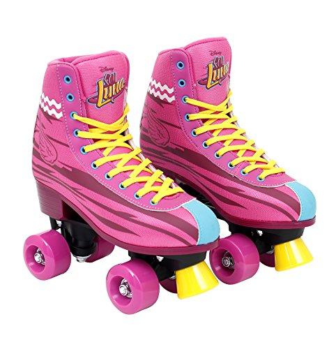 Disney Soy Luna Roller Skates Patines Authentic Original (38 - 39)