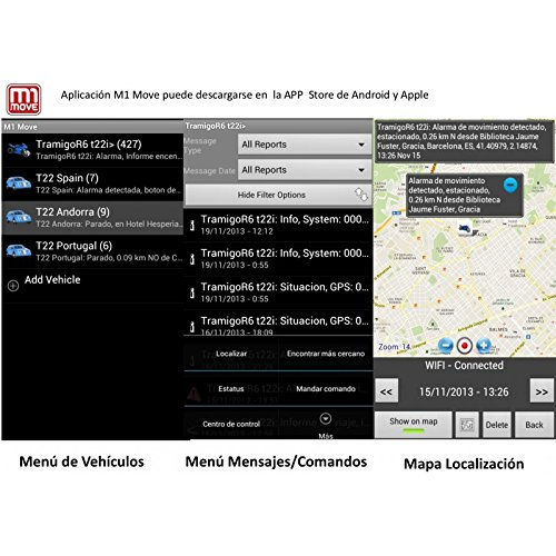 Alarma Scorpio SRX-900 RFID Básica + Localizador GPS/gsm ...