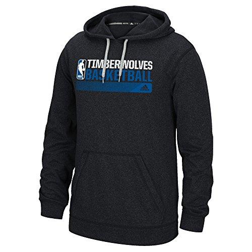 fan products of NBA Minnesota Timberwolves Icon Status Climawarm Ultimate Hoodie, Medium, Black
