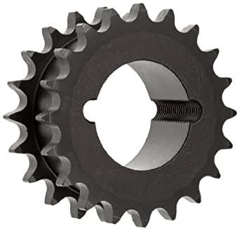 """7//8/""""  Bore Type B Finish Sprocket for #40 Roller Chain 32 Tooth 40B32H"""