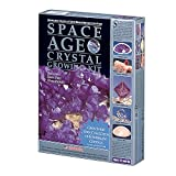 Space Age Crystal Growing Kit: 6 Crystals (Amethyst and Diamond)