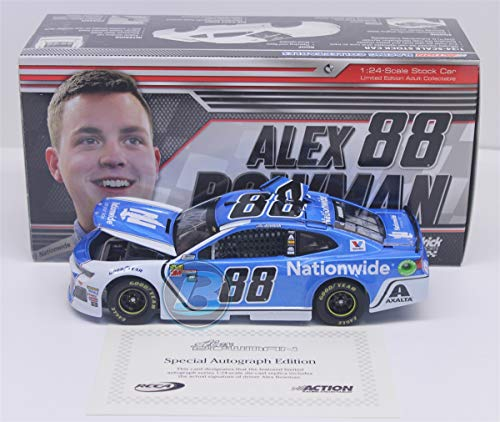 Lionel Racing Alex Bowman Autographed 2018 Nationwide 1:24 Nascar ()