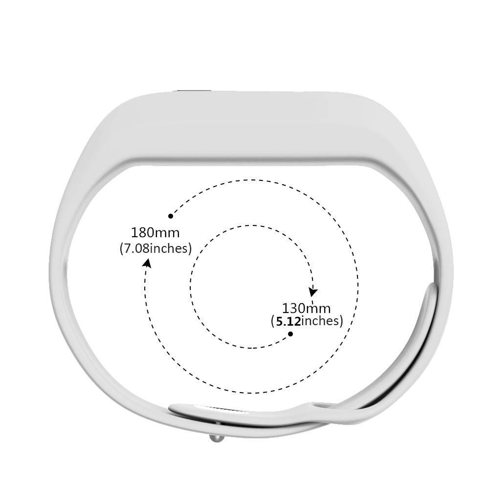 Black ANCOOL Compatible with Vivofit JR Bands Soft Silicone Wristbands Replacement for Vivofit 3//Vivofit JR//Vivofit JR2 Tracker