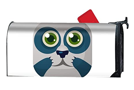 Wondrous Amazon Com Panda Square Icon Summer Magnetic Mailbox Cover Caraccident5 Cool Chair Designs And Ideas Caraccident5Info
